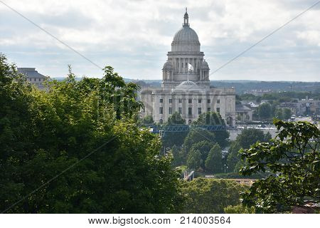 Rhode Island State Capitol in Providence, RI poster