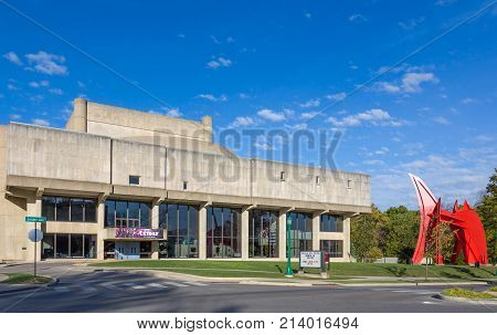 The William And Gayle Cook Music Library On The Campus Of The University Of Indiana
