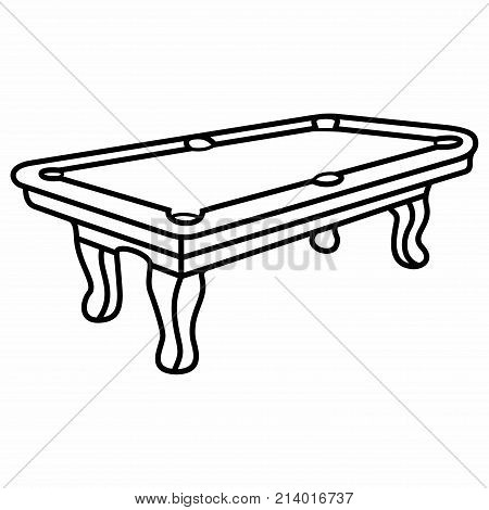 Billiard Pool Table. A billiard table or billiards table is a bounded table on which billiards-type games (cue sports) are played.