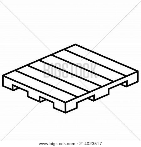 Wood Pallet. A pallet, sometimes inaccurately called a skid, is a flat transport structure that supports goods in a stable fashion while being lifted by a forklift, pallet jack, front loader, work saver, or other jacking device, or a crane.