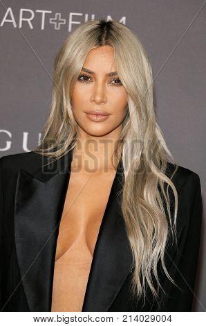 Kim Kardashian West at the 2017 LACMA Art + Film Gala held at the LACMA in Los Angeles, USA on November 4, 2017.