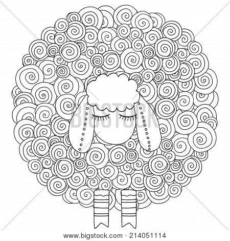 Artistically Ornamental Sheep.