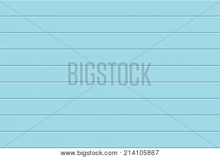 Light blue Wooden Wall background. Horizontal seamless pattern