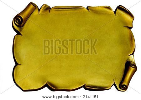 Golden Plaque