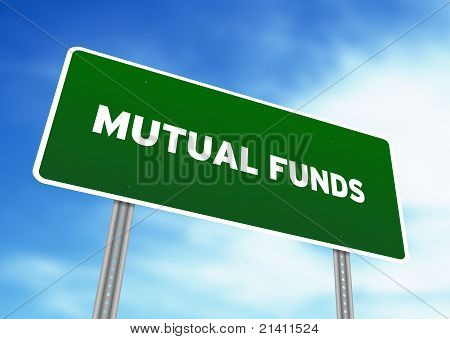 Mutual Funds Highway Sign
