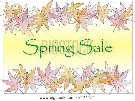 Pastle Leaves Spring