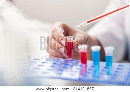Working lab laboratory scientist transparent equipment people