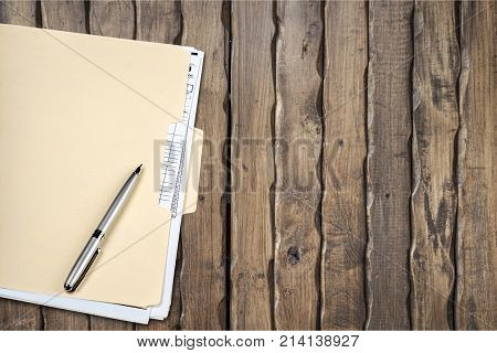 Pen file folder file folder office supply manila folder file clerk