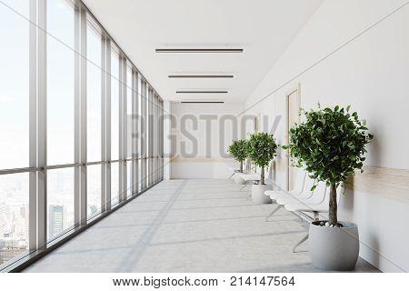 White Hospital Lobby