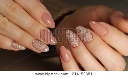 Beautiful Nail Art Manicure