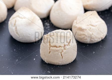 Khanom Ping - Thai Sweetmeat Made Of Flour, Egg And Sugar.
