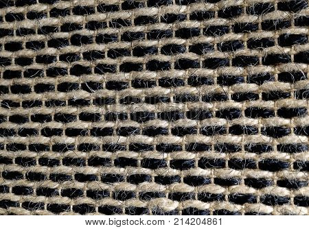 Background Pattern Brown Handicraft Weave Texture Wicker Surface for Furniture Material.
