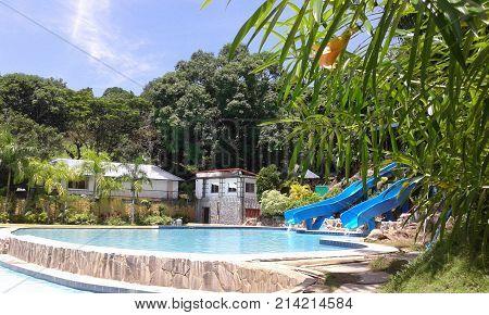 Resort in Solano Nueva Vizcaya province in the Philippines