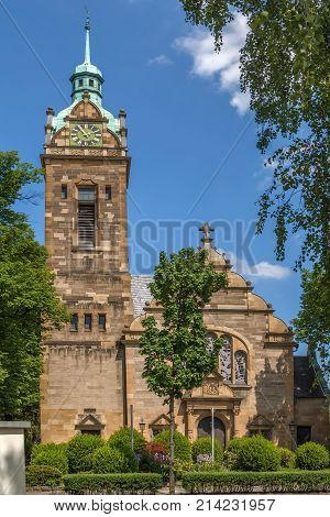 Built in 1903 the Evangelische Lutherkirche is a protestant church in Bonn Germany