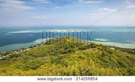 Kaneohe Sandbar Seascape