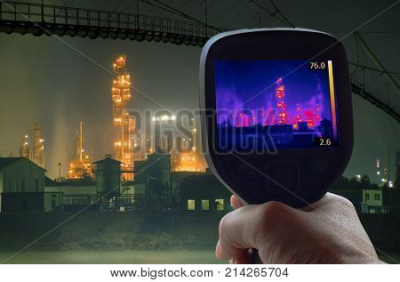 Thermal Imaging Supervision of Oil Refinery