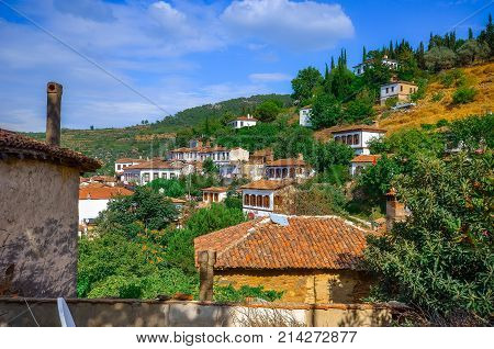 Traditional village of Sirince (greek Kirkintzes) near Izmir, Turkey