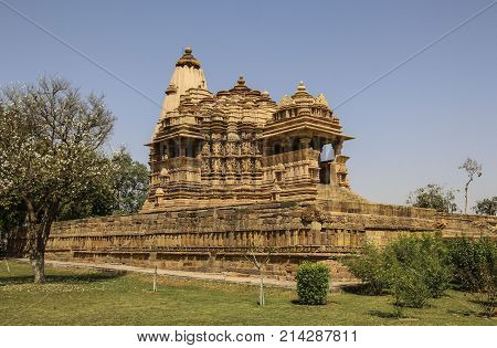 Madhya Pradesh Temple Western Temples of Khajuraho India