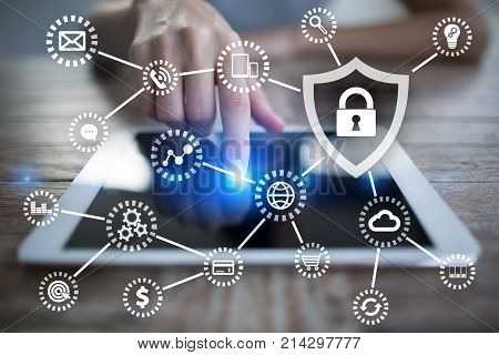 Cyber Security, Data Protection, Information Safety And Encryption.