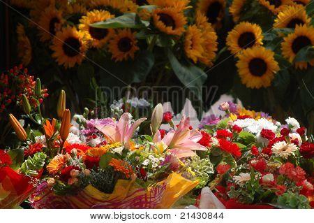 Live flowers