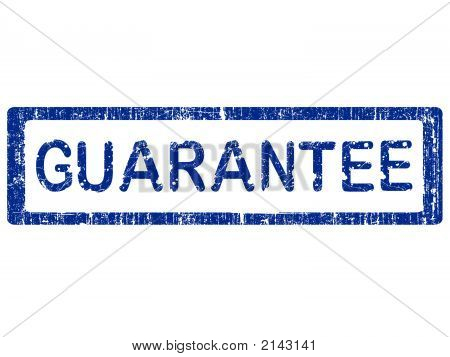 Grunge Office Stamp - Guarantee