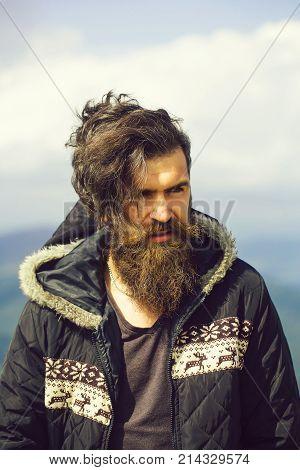 Handsome Bearded Hipster
