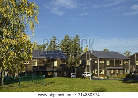 Swedish middle class home, Stockholm area .