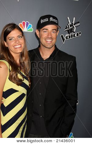 LOS ANGELES - JUN 29:  Siri Pinter, Carson Daly arriving at the Wrap Party for The