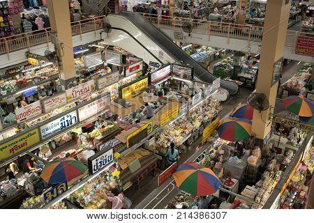 Warorot Market In Chiang Mai, Thailand
