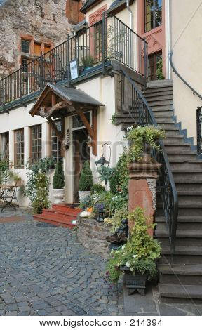 Storybook Inn Located In The Mosel Wine Region Of Germany