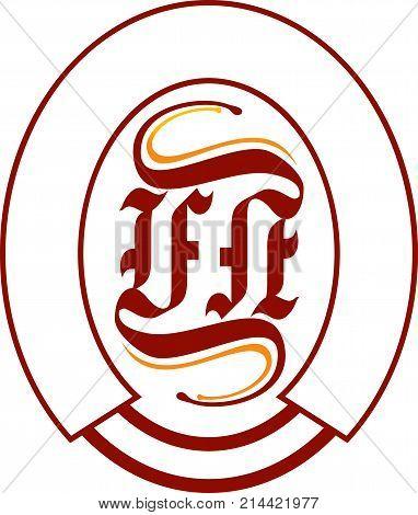 Modern Solution Letter FN Logo Design Template Vector