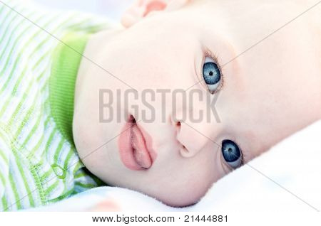 Portret Of Cute Baby