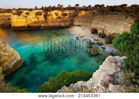 Praia Da Estaquinha, Algarve, Portugal