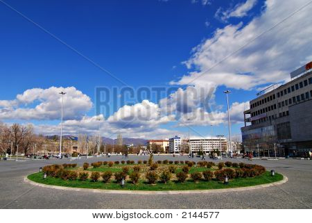 Skopje City Center Square