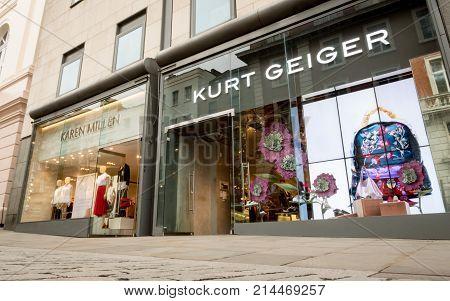 Kurt Geiger And Karen Miller Fashion Shops, London