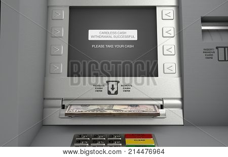 Atm Cardless Cash Withdrawal