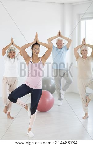 Yoga Attendants During Classes