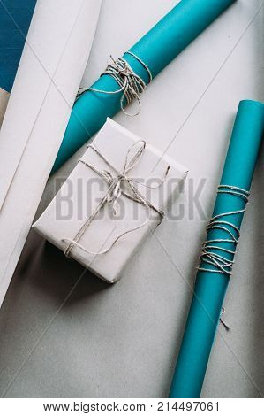 holiday professional gift wrapping. worthy surprise for birthday, fathers day, valentines day, new year, christmas, thanksgiving and other occasions. quality work