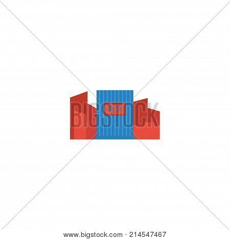 Flat Icon Shibuya Element. Vector Illustration Of Flat Icon Japan Isolated On Clean Background