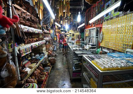 Handicraft Sold In The Filipino Market In Kota Kinabalu