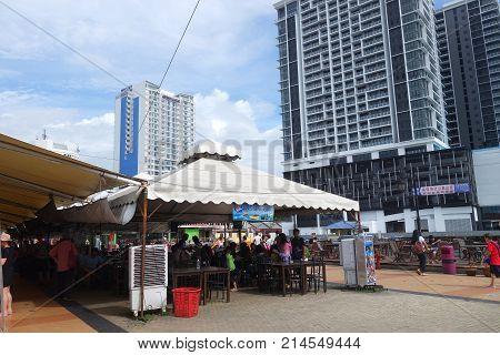 Jesselton Point Waterfront At Kota Kinabalu ,sabah