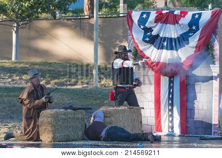 Theatrical Presentation During  Tumbleweed Festival