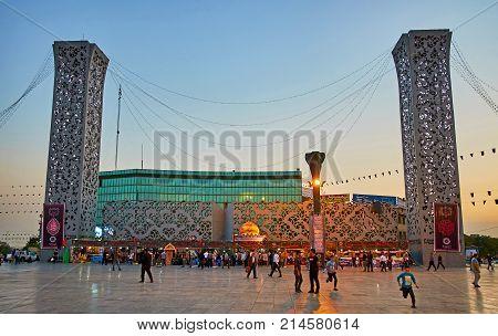 Evening In Tehran