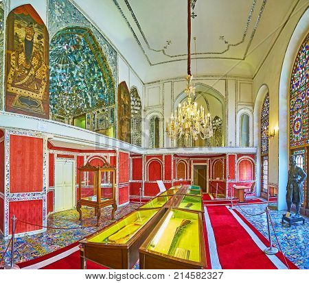 Art Exhibition In Diamonds Hall Of Golestan, Tehran