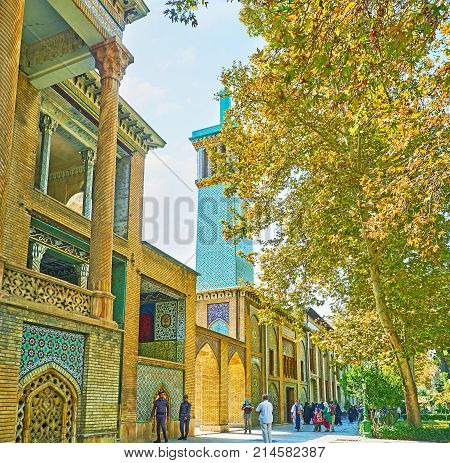Excursion To Golestan Palace, Tehran