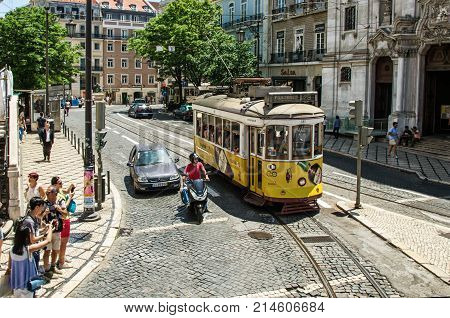 Lisbon Portugal Editorial Image