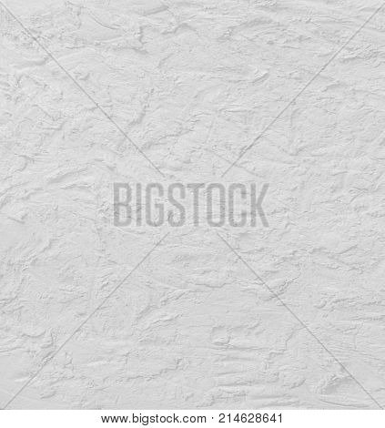 White background concrete texture. Cement stucco wall.