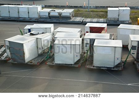 Air cargo unit load devices
