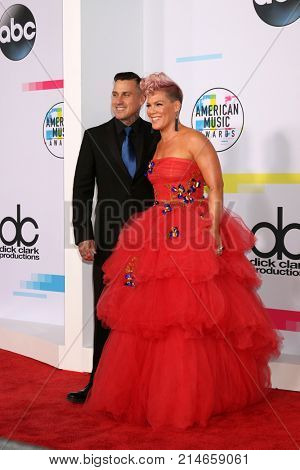 LOS ANGELES - NOV 19:  Corey Hart, Pink at the American Music Awards 2017 at Microsoft Theater    on November 19, 2017 in Los Angeles, CA
