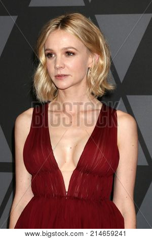 LOS ANGELES - NOV 11:  Carey Mulligan at the AMPAS 9th Annual Governors Awards at Dolby Ballroom on November 11, 2017 in Los Angeles, CA